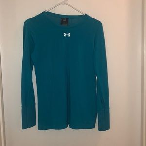 Blue cold gear long sleeve shirt